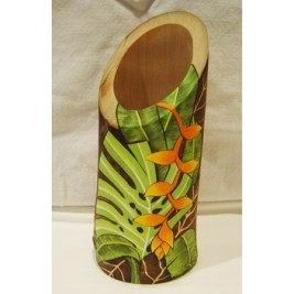 Hand Painted Bamboo