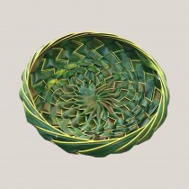 Hand Woven Coconut Leaf Basket - Medium