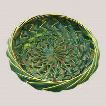 Hand Woven Coconut Leaf Basket - Big