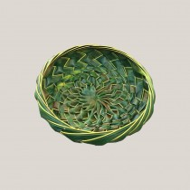 Hand Woven Coconut Leaf Basket - Small
